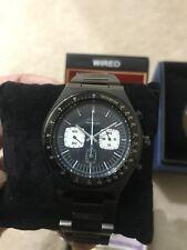 Seiko Wired Bullhead AGAV023 PVD Black Panda Dial Chronograph 6138-0040 Reissue