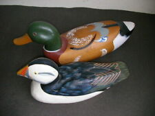 PUFFIN & DUCK CARVING