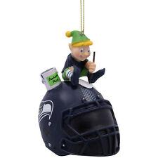 NFL Seattle Seahawks TEAM PAINTING ELF Ornament, NEW