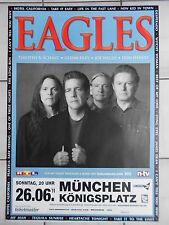 EAGLES  2011  MÜNCHEN    orig.Concert-Konzert-Tour-Poster-Plakat DIN A 1