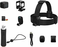 GoPro HERO5 Session Camera Bundle with Head Strap & QuickClip Floating Hand Grip