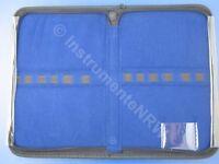 Schutz Etui Aufbewahrungs Tasche mit Reißverschluss 14,5 x 22,5 x 3 cm Gummizug