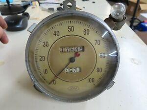 1936 Ford nice used original working speedometer No Reserve flathead 1935
