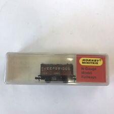 Hornby Minitrix Boxed N Gauge Sheepbridge Mineral Wagon N.514