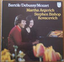 "Philips 9500 434 ""Bartok/Debussy/Mozart"" Martha Argerich, Stephen B. Kovacevich"