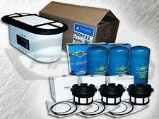 7.3L DIESEL OVAL AIR FILTER 3 OIL & 3 FUEL FILTERS W/CAP -REPLACES FA1757 FD4596