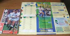 La coppa del mondo'91 SOUVENIR Guide e grafico del muro.