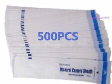 500PCS Dental Intraoral Camera Disposable Sleeve Sheath Cover CA STOCK