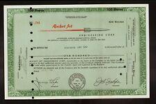 Aircraft : Rocket Jet Engineering Glendale California issued to Thomas Jay 1961