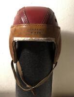 1920's-30's VIM Sports Radio Scholastic H225 Ken Strong Signed Leather Helmet