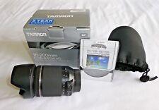Tamron 18-200mm F/3.5 - 6.3 DI II Vc Lente Para Nikon