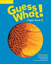Guess What! Level 2 Pupil's Book British English, Reed, Susannah, Very Good cond