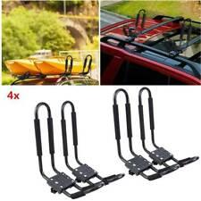 Universal 2 Pair Kayak / Canoe Carrier for Car Roof Rack J Bars and Straps UK