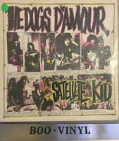 """The Dogs D'Amour– Satellite Kid-1989,Vinyl,12"""",Limited Edition Vg+"""