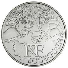 """Pièce de 10 euros des régions """"Bourgogne"""" 2012."""
