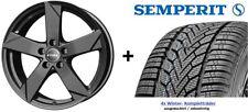 4x Winterräder für neuen VW Touran II 215/55 R17 Semperit Reifen Rial Felgen