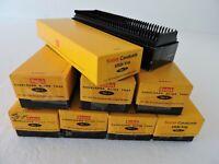 Lot of 8 Kodak Cavalcade Blank Slide Trays No. 1 for Cardboard Mounted Slides