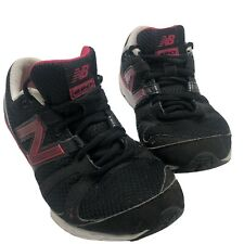 New Balance 690 Womans Black Pink Running Tennis Shoes Size 6.5