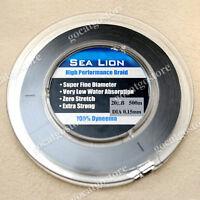 NEW Sea Lion 100% Dyneema Spectra Braid Fishing Line 500M 20lb Black