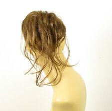 Haargummi Scrunchie Haarteil Haarverdichtung leicht goldbraun 22 12