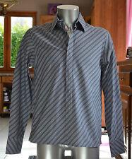 KENZO -Très jolie chemise grise - taille 42 - 16,5  - EXCELLENT ÉTAT