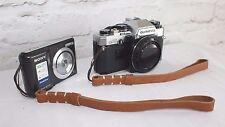 Echt Leder Kamera Tragegurt Handschlaufe Leather Camera Wrist Strap  Leica  #226