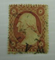 c1860 United States of America SC #26 WASHINGTON  used stamp