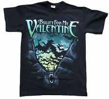 Bravado BULLET FOR MY VALENTINE Scream AIM Tour Rock Star Bats ViP T-Shirt g.S
