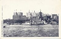 NEW YORK CITY – Lower New York and the Battery - udb (pre 1908)