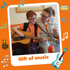 Helen & Douglas House Charity Virtual Gift that Gives Twice - Gift of Music £25