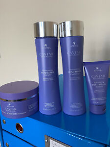 SET Alterna CAVIAR ANTI-AGING Restructuring Bond Repair Kit-masque shampoo cond