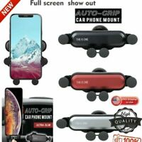 Universal Auto-Grip Car Phone Mount Holder For Samsung Galaxy S10/iPhone 8/8Plus
