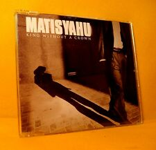 MAXI Single CD Matisyahu King Without A Crown 2 TR 2005 Reggae Dub PROMO RARE