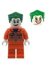 Custom Designed Minifigure Orange Joker with Dual Face Head