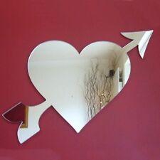 Heart & Arrow Acrylic Mirror (Several Sizes Available)