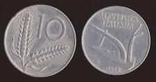 10 LIRE 1956 SPIGHE E ARATRO - ITALIA