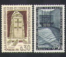 France 1963 Resistance/Army/Monuments/Memorials/WWII/People 2v set (n36938)