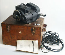 MODEL 333 KODAK HIGH SPEED CAMERA WITH MANUAL/CASE/63MM F/2.7 LENS AS IS
