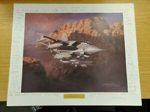 Storm Over The Gulf by Michael Turner - Signed & Numbered - Large Print - RAF