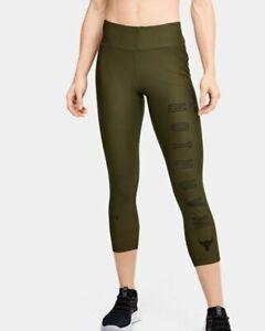 Women's Project Rock HeatGear Armour Warrior Ankle Crop #1355683  Size XS