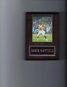 BAKER MAYFIELD PLAQUE CLEVELAND BROWNS FOOTBALL NFL