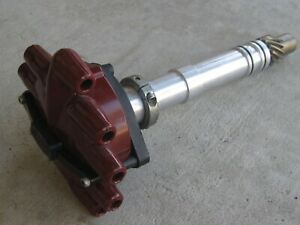 MSD Crank Trigger Distributor #8489 Chevy BBC SBC Slip Collar Dragster Drag Boat