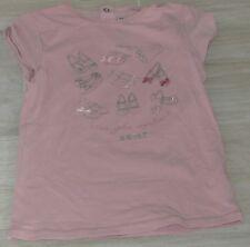 """5213 - T-shirt MC 5 ans SERGENT MAJOR vieux rose fantaisie """"mes jolis souliers"""""""