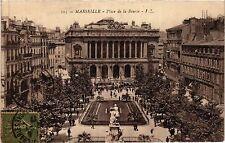 CPA MARSEILLE Place de la Bourse (404979)