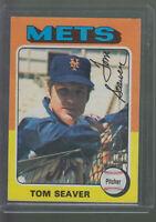 1975 TOPPS #370 TOM SEAVER NEW YORK METS BK$12.00 D