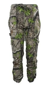 Trek Camo Jogging Bottoms Camouflage Jogger Pants Fishing Hunting Shootint