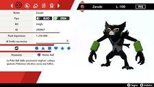 Zarude EVENT 6IV BR + Masterball Pokemon Sword - Shield Pokemon Spada - Scudo