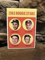 1963 Topps #169 GAYLORD PERRY ROOKIE STARS.. Great Condition🔥nice Centering👀