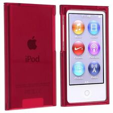 Case Hard Case Cover Protection Red Crystal Ipod Nano 7G 7 G+Film