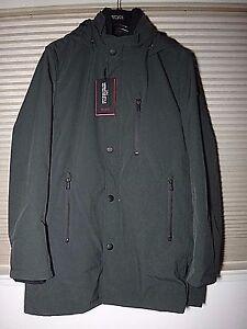 NWT TUMI Men's Inner Vest Versatile Jacket Sz-M, Dark Moss